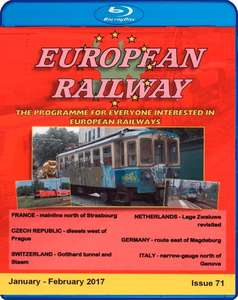 European Railway - Issue 71 - January - February 2017 - Blu-ray