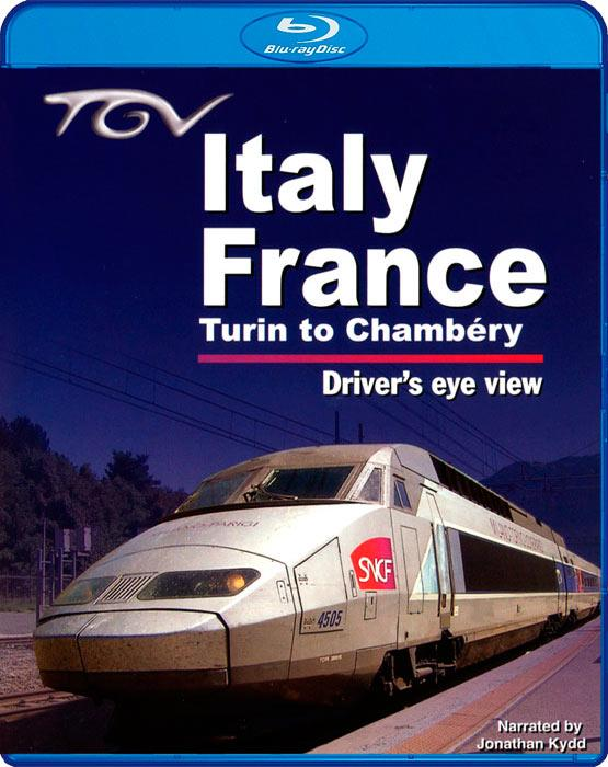 TGV Italy - France - Turin to Chambery - Drivers Eye View - Blu-ray