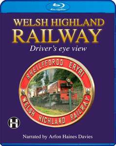 Welsh Highland Railway - A Driver's Eye View Blu-ray