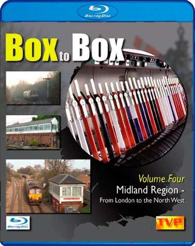 Box to Box Volume 4 - Midland Region - From London to the North West - Blu-ray