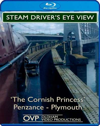 Steam Drivers Eye View - Cornish Princess Penzance - Truro - St. Austell - Plymouth - Blu-ray