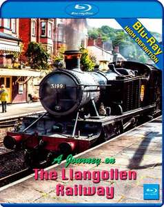 A Journey on the Llangollen Railway - blu-ray