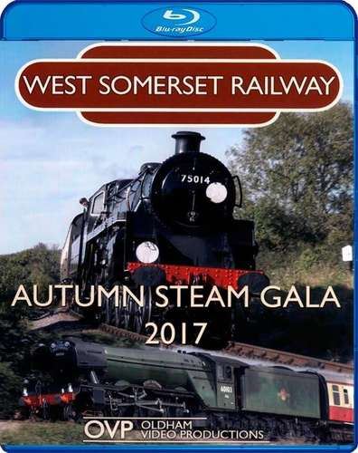 West Somerset Railway Autumn Steam Gala 2017 - Blu-ray