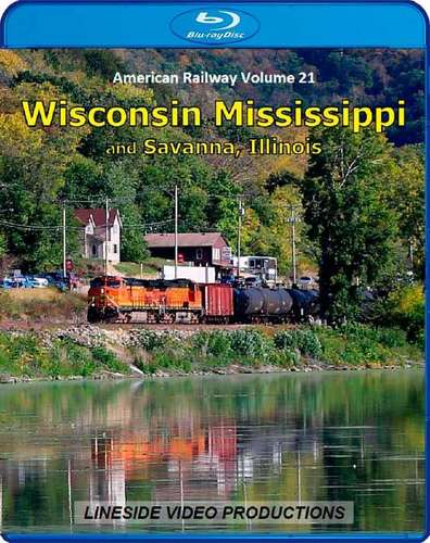 American Railway - Volume 21 - Wisconsin Mississippi and Savanna, Illinois - Blu-ray