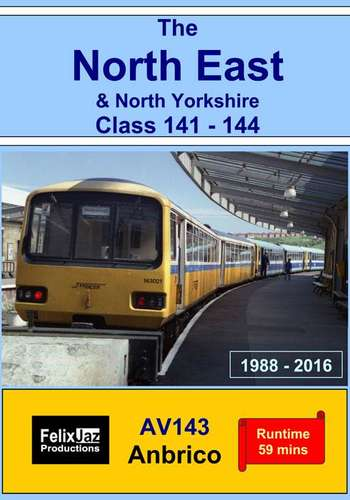 The North East and North Yorkshire Class 141 - 144. 1988 - 2016