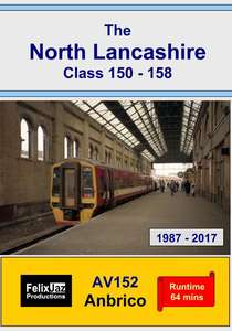 The North Lancashire Class 150 -158 - 1987-2017