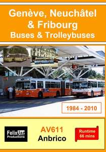 Geneve, Neuchatel & Fribourg Buses & Trolleybuses
