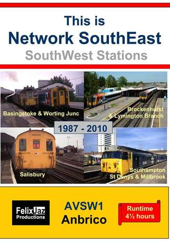 This is Network SouthEast SouthWest Stations 1987-2010
