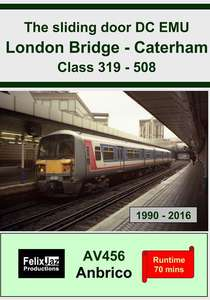 The Sliding Door DC EMU London Bridge - Caterham Class 319 - 508
