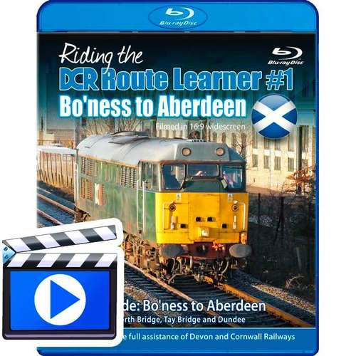 Riding the DCR Route Learner #1 - Bo?ness to Aberdeen (1080p HD)