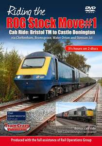 Riding the ROG Stock Move #1 - Cab Ride: Bristol TM to Castle Donington