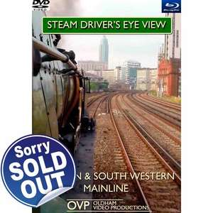 Steam Drivers Eye View - London and South Western Mainline - Blu-ray