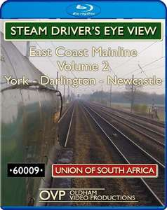 Steam Drivers Eye View - East Coast Mainline: Volume 2 Blu-ray