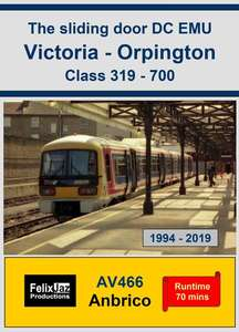 The Sliding Door DC EMU Victoria - Orpington Class 319-700 (1994 - 2019)