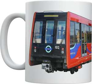 Light Rail Mug Collection - Docklands Light Railway B92