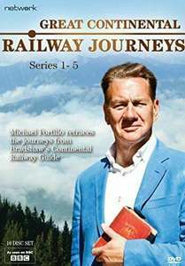 Great Continental Railway Journeys - Series 1 - 4