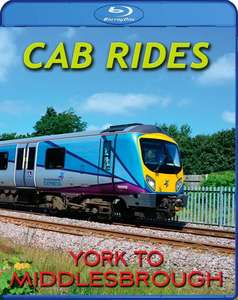 Cab Rides: York to Middlesborough. Blu-ray
