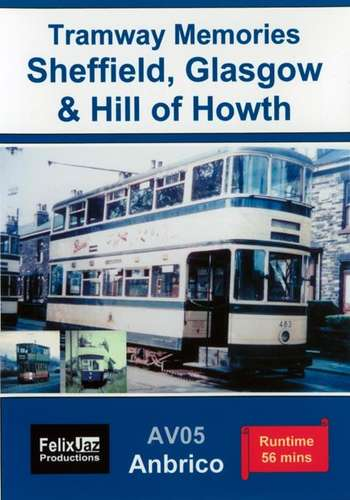 Tramway Memories 1958-1960 Sheffield, Glasgow and Hill of Howth