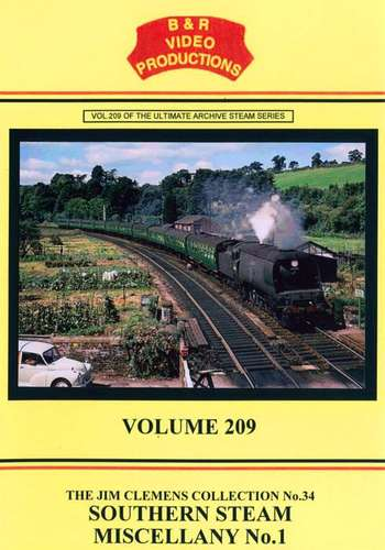 Southern Steam Miscellany No.1 - Volume 209