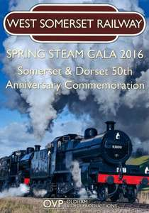 West Somerset Railway Spring Steam Gala 2016 - Somerset and Dorset 50th Anniversary Commemoration