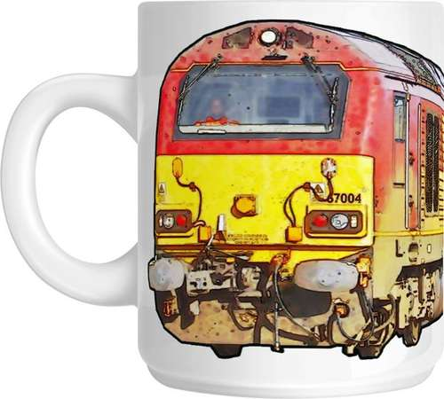 The Class 67 - Big Freight Mug Collection