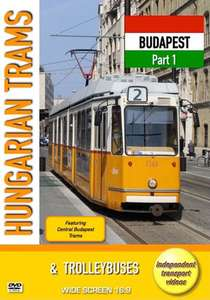Hungarian Trams and Trolleybuses - Budapest - Part 1