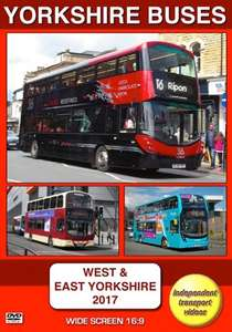 Yorkshire Buses - West and East 2017