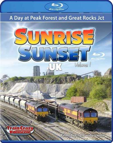 Sunrise Sunset UK Volume 1 - Sunrise Sunset UK Volume 1 - A day at Peak Forest and Great Rocks - Blu-ray