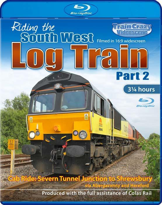 Riding the South West Log Train Part 2 - Blu-ray