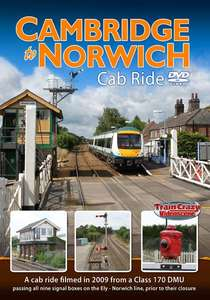 Cambridge to Norwich Cab Ride