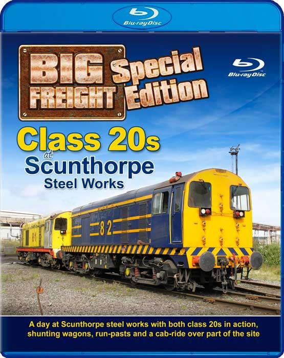 Class 20s at Scunthorpe Steel Works - Big Freight Special Edition - Blu-ray