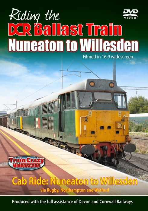 Riding the DCR Ballast Train - Nuneaton to Willesden