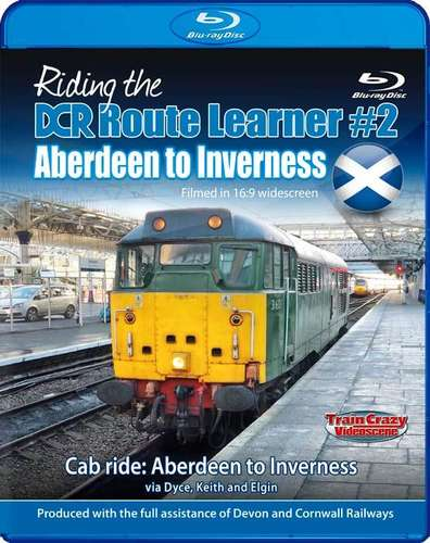 Riding the DCR Route Learner 2 - Aberdeen to Inverness - Blu-ray