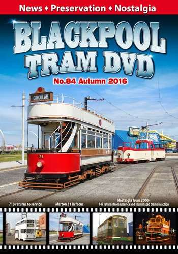 Blackpool Tram DVD No.84 - Autumn 2016