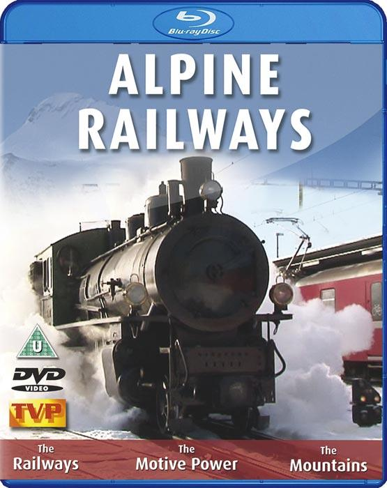 Alpine Railways in Winter and Summer. Blu-ray