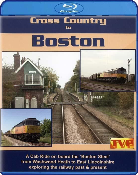 Cross Country to Boston. Blu-ray