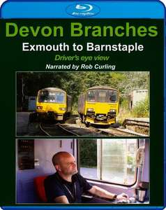 Devon Branches - Exmouth to Barnstaple - Drivers Eye View - Blu-ray
