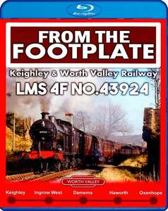 From the Footplate - The Keighley and Worth Valley Railway - Blu-ray