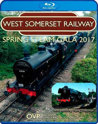 West Somerset Railway Spring Steam Gala 2017 - Blu-ray