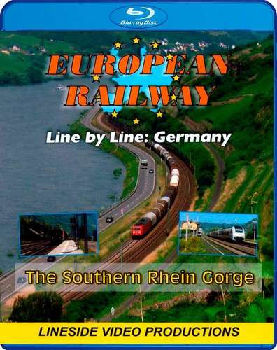 European Railway - Line by Line - The Southern Rhein Gorge 2016 - Blu-ray