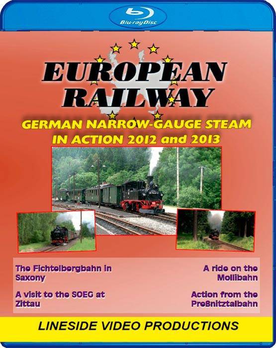 German Narrow Gauge Steam in action 2012 and 2013