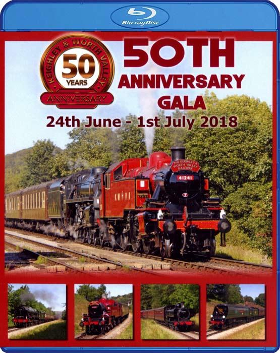 Keighley & Worth Valley Railway 50th Anniversary Gala. Blu-ray