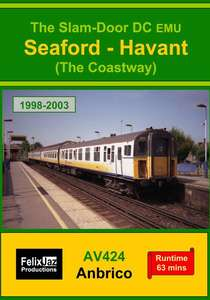 The Slam-door DC EMU Seaford - Havant - The Coastway