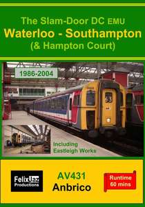 The Slam-door DC EMU Waterloo - Southampton and Hampton Court