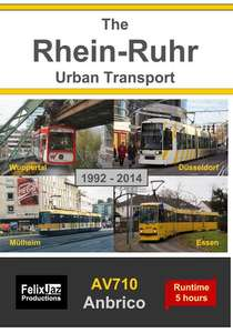 The Rhein-Ruhr Urban Transport -1992-2014  4 Disc Set