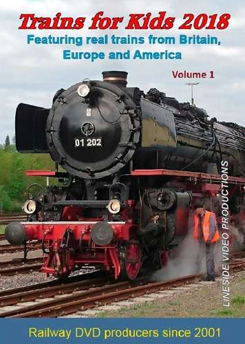 Trains for Kids 2018 - Volume 1