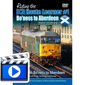 Riding the DCR Route Learner #1 - Bo?ness to Aberdeen