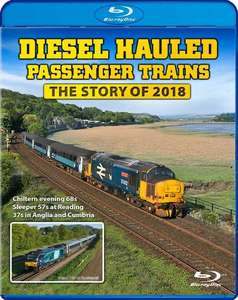 Diesel Hauled Passenger Trains - The Story of 2018. Blu-ray