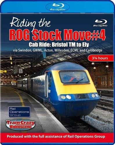 Riding the ROG Stock Move #4. Blu-ray