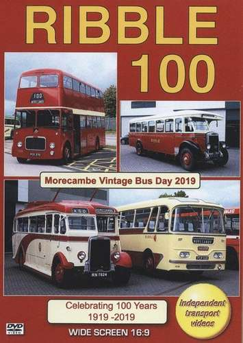 Ribble 100 - Morecambe Vintage Bus Day 2019